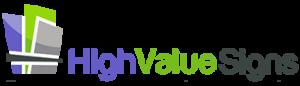 Irving Custom Signs for Business highvalue logo 300x86