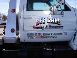 Bee Cave Semi Work Truck Wrap