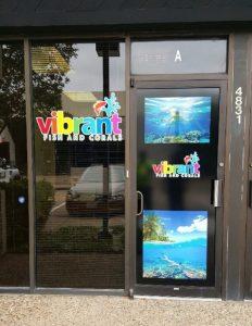 Cut Vinyl Window Graphics Vibrant