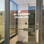 Glass Door Sign