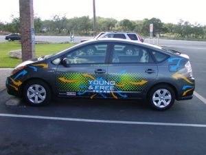 Complete Commercial Car Wrap