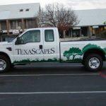 Custom Landscaping Truck Wrap