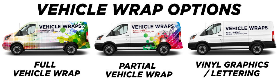Euless Vehicle Wraps vehicle wrap options