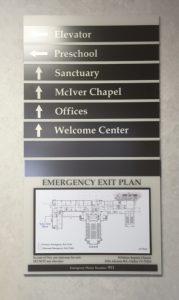 Directory & Wayfinding Signage