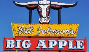 Bill Johnson's Big Apple Traditional Neon Sign