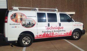 Custom Van Wrap, Irving, TX