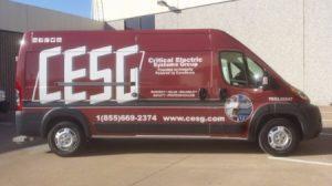 CESG Protective Van Wrap