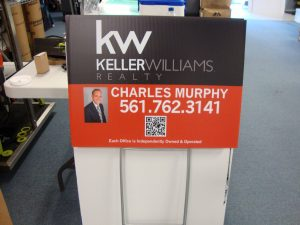 Keller Williams Real Estate Yard Sign