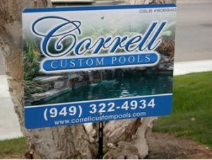Custom Promotional Yard Sign