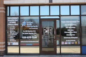 Irving Custom Office Signs Copy of Chiropractic Office Window Decals 300x200