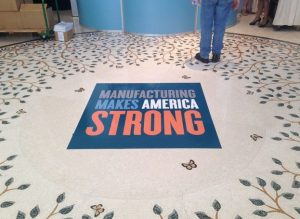 Irving Custom Office Signs floor vinyl 300x219
